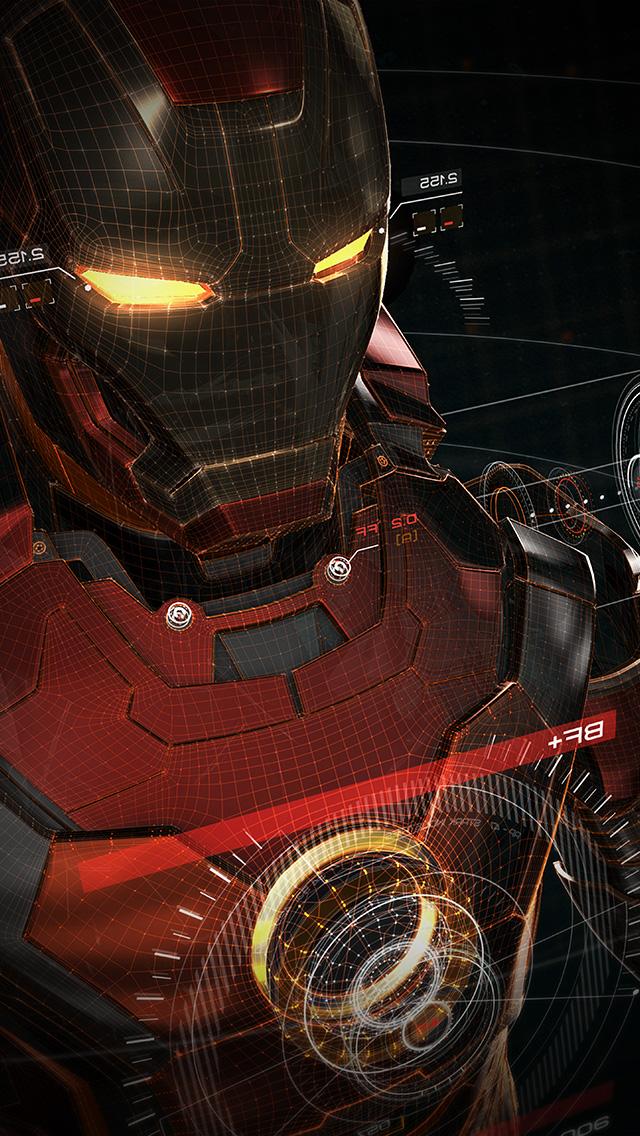 freeios8.com-iphone-4-5-6-plus-ipad-ios8-aq06-ironman-3d-red-game-avengers-art-illustration-hero-vignette