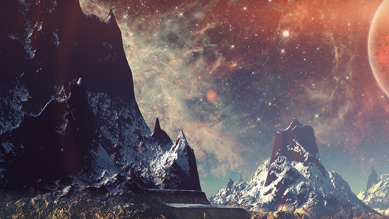 desktop-wallpaper-laptop-mac-macbook-air-aq11-dream-space-world-mountain-sky-star-illustration-flare-wallpaper