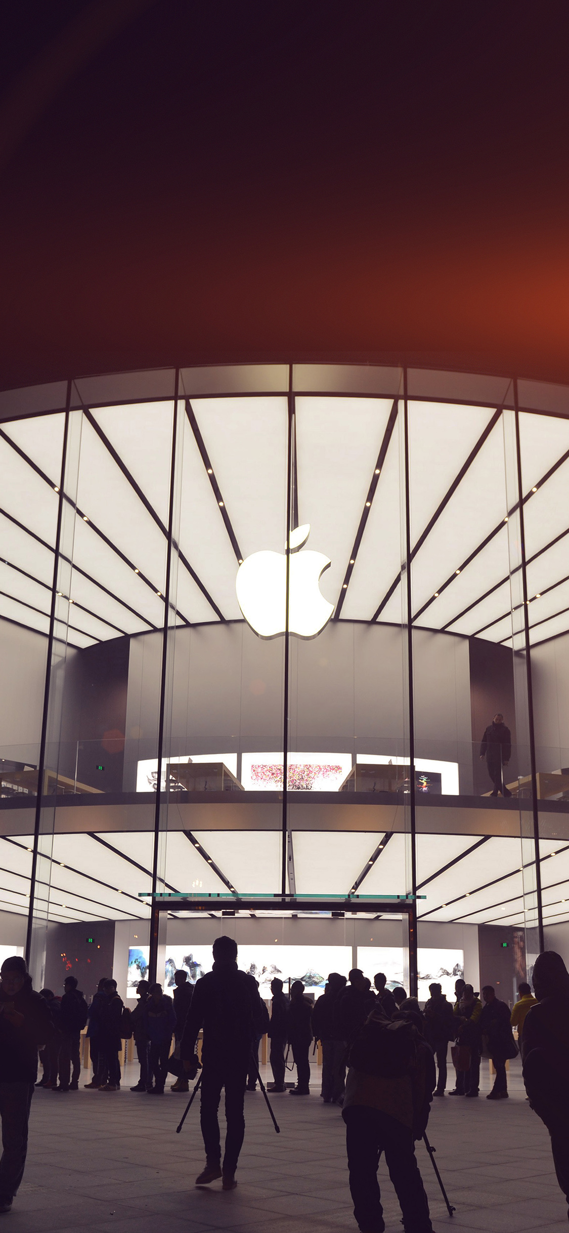 iPhoneXpapers.com-Apple-iPhone-wallpaper-aq19-photo-apple-store-event-city-architecture-flare