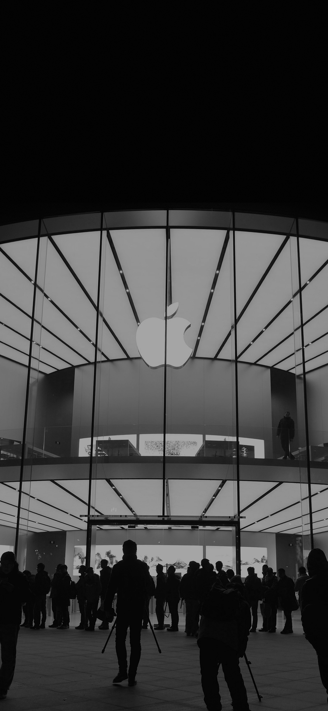 iPhoneXpapers.com-Apple-iPhone-wallpaper-aq20-photo-apple-store-event-city-architecture-dark-bw