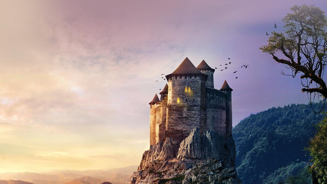 wallpaper-desktop-laptop-mac-macbook-aq22-castle-mountain-illustration-art-sky