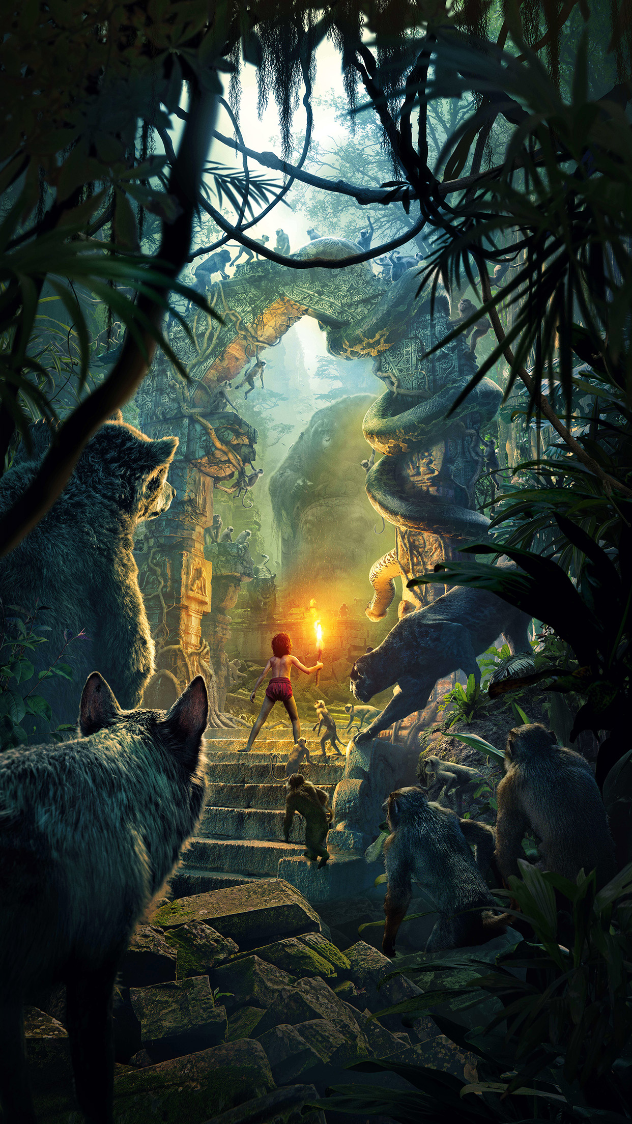 iphone7papers | iphone7 wallpaper | aq25-junglebook-art-film