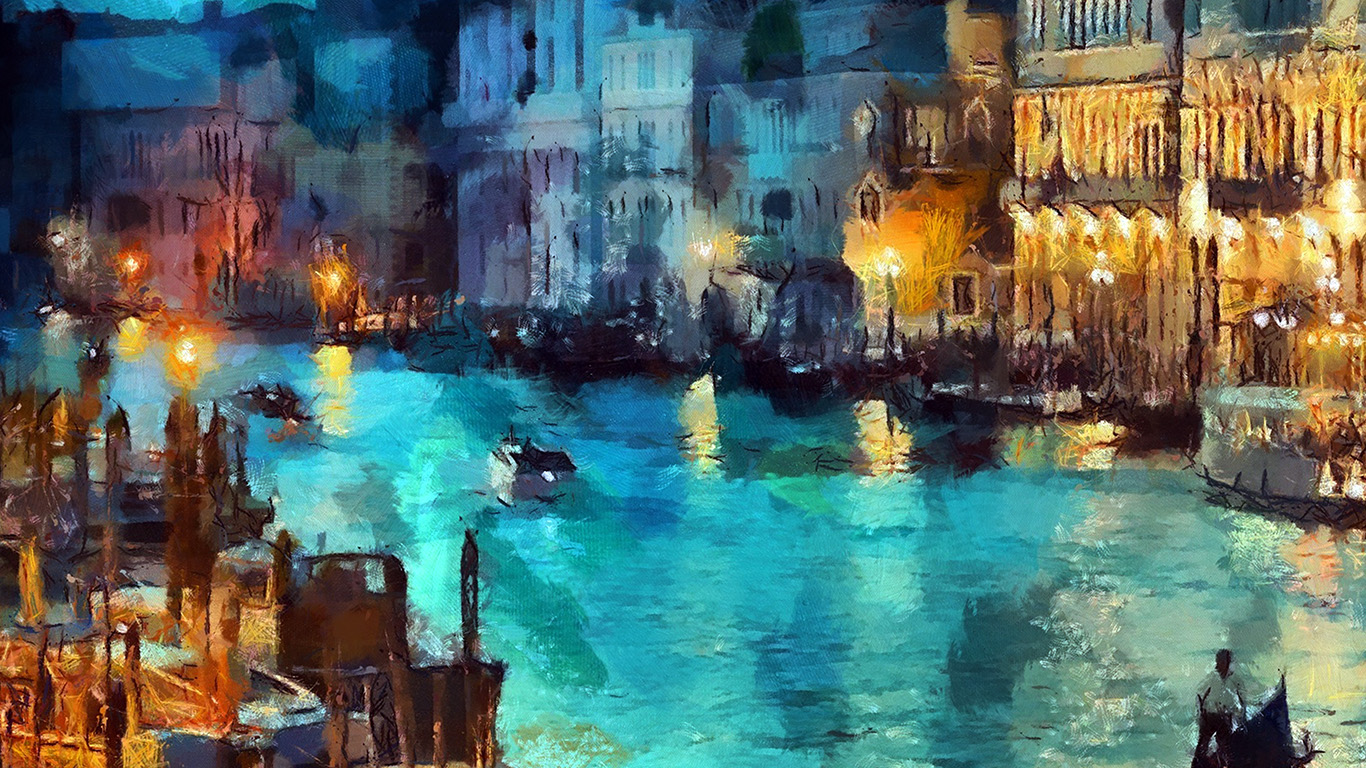 desktop-wallpaper-laptop-mac-macbook-air-aq32-art-classic-painting-water-lake-night-blue-wallpaper