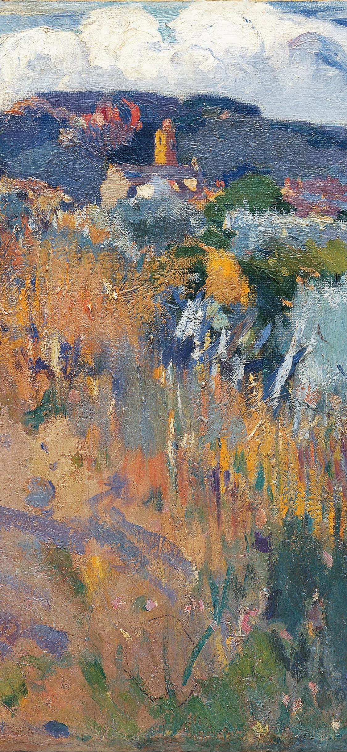 iPhoneXpapers.com-Apple-iPhone-wallpaper-aq33-joaquim-mir-horse-classic-painting-art