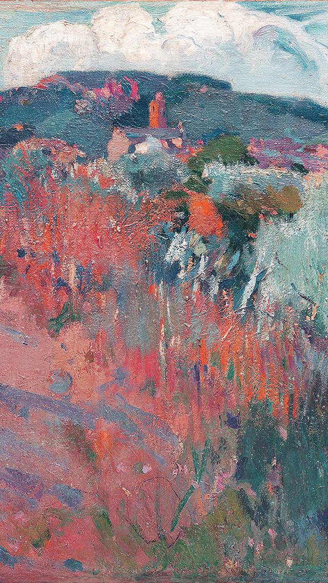 freeios8.com-iphone-4-5-6-plus-ipad-ios8-aq34-joaquim-mir-horse-classic-painting-art-red