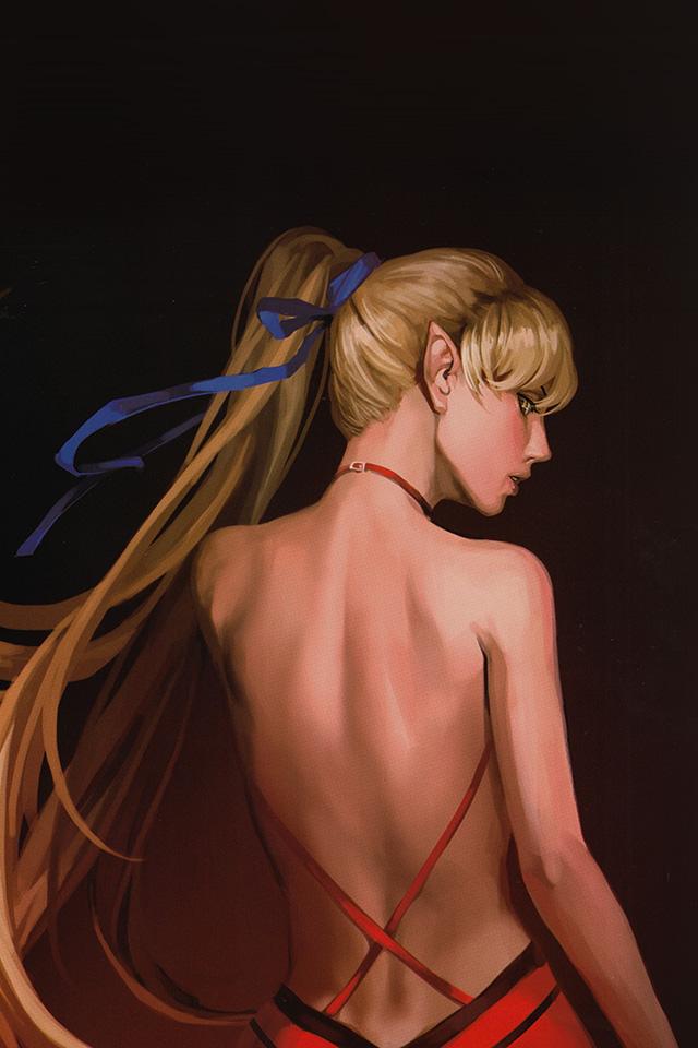 sexy girl back
