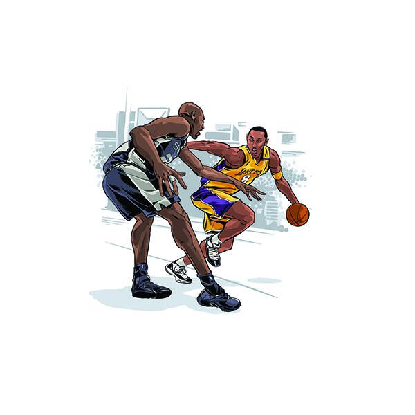 Aq45 Kobe Bryant Ankle Breaker Sports Nba Art Wallpaper