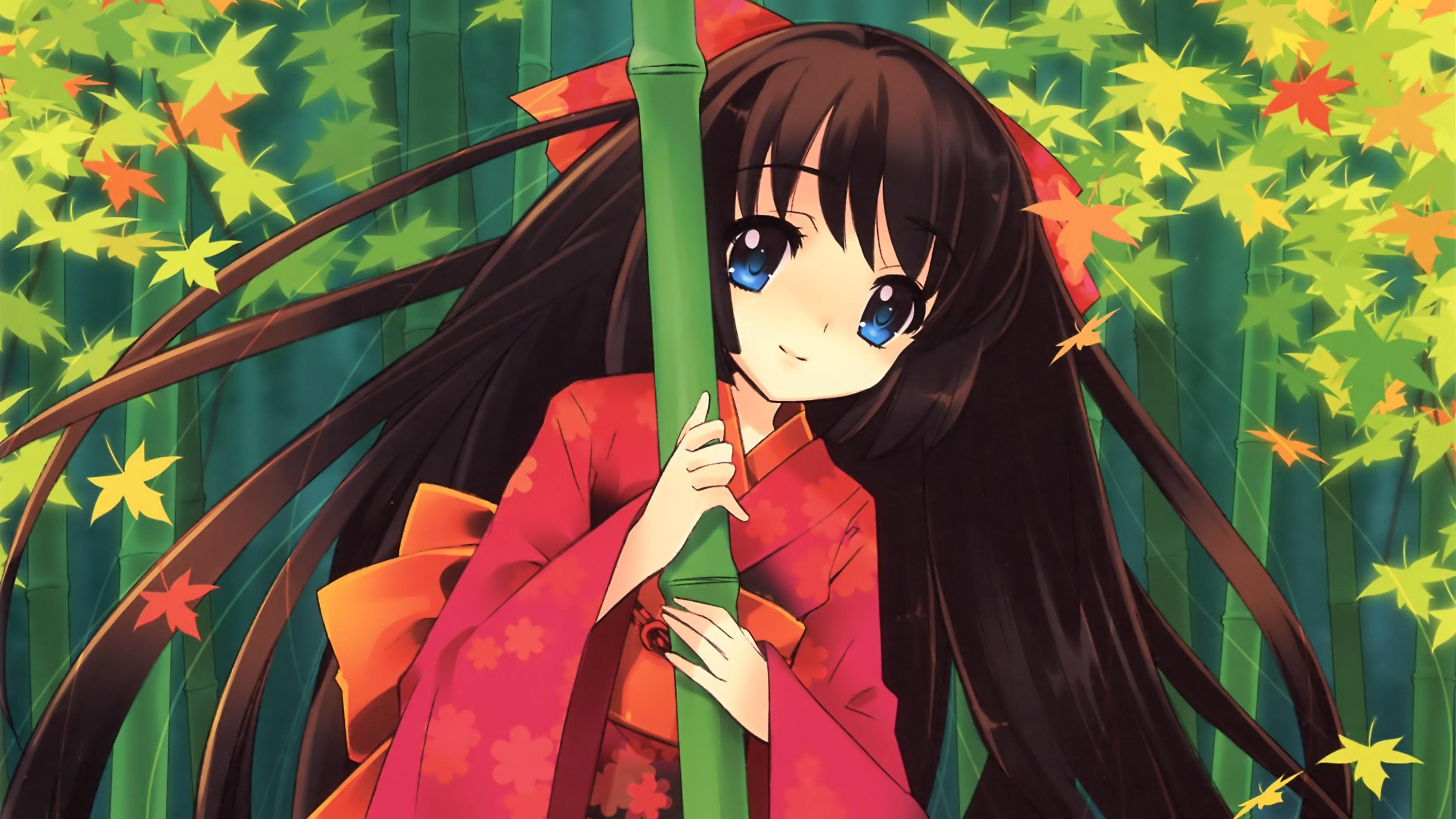 Aq46 Anime Girl Japan Art Cute Wallpaper