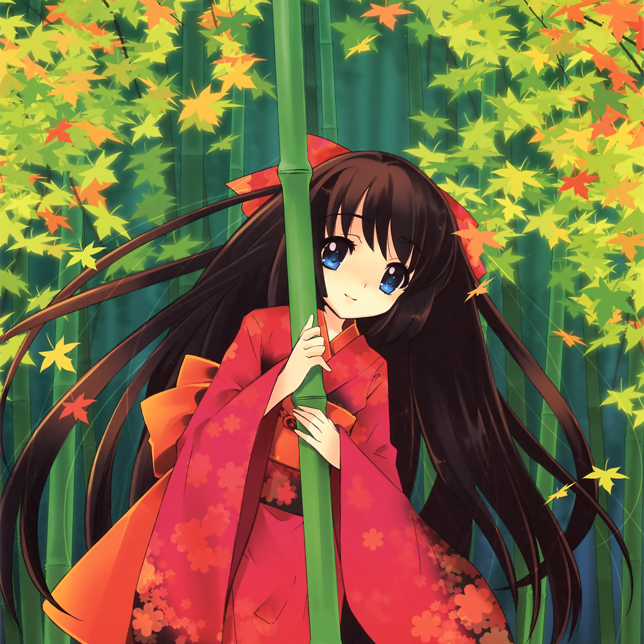 Cute Anime Wallpapers: Aq46-anime-girl-japan-art-cute-wallpaper