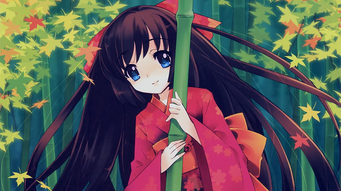 Wallpaper For Desktop Laptop Aq47 Anime Girl Japan Art Cute Illustraion