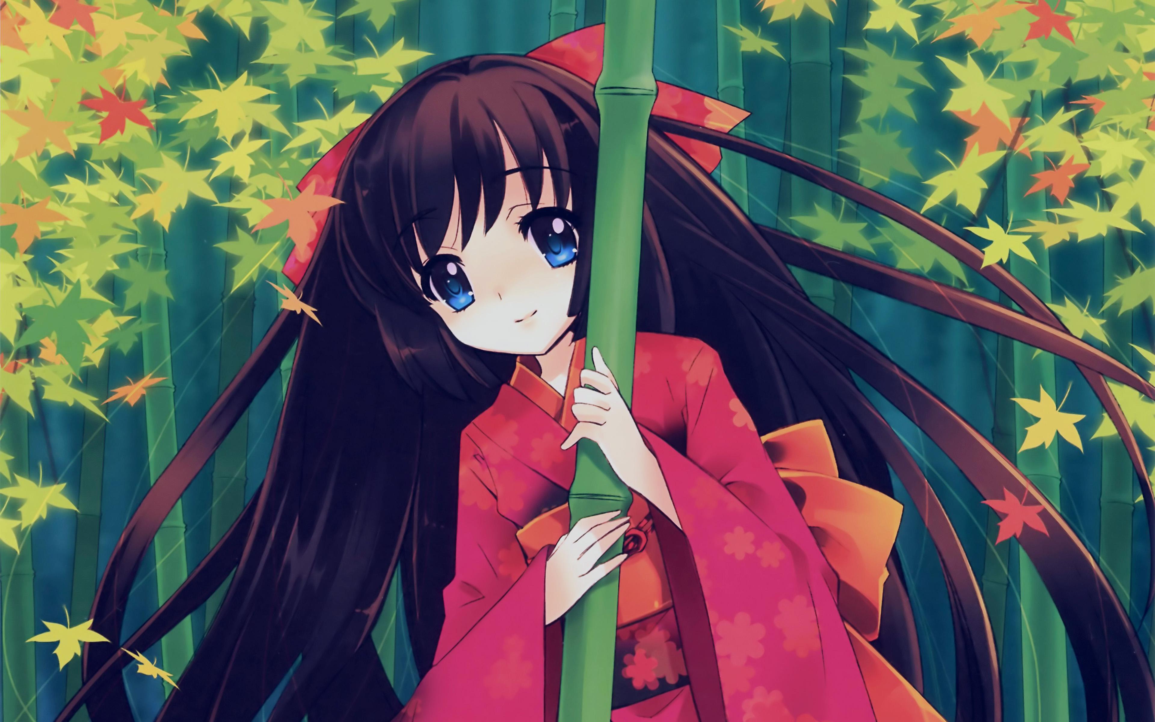 Aq47 Anime Girl Japan Art Cute Illustraion