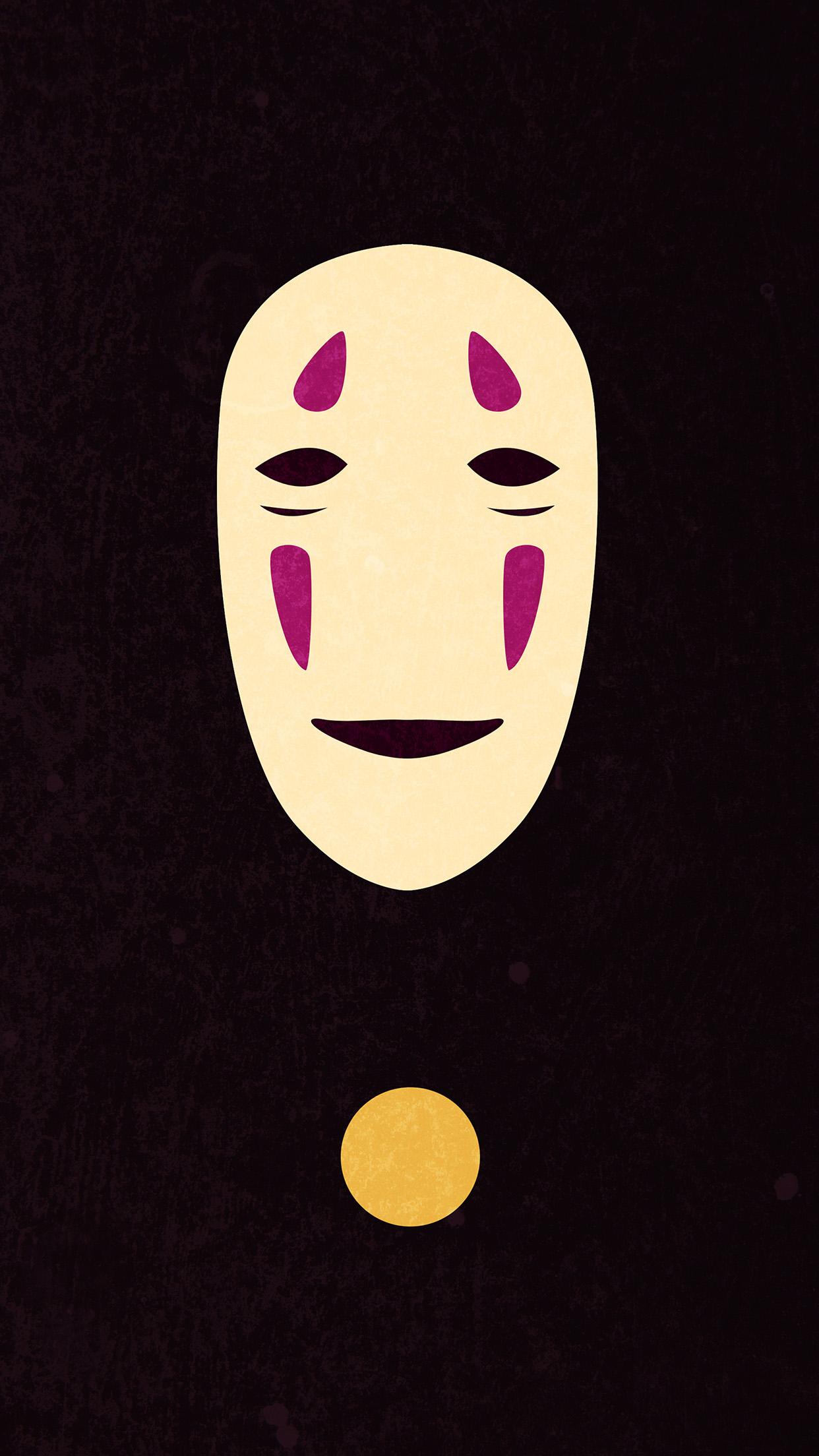 Aq48 Spirited Away Dark Ghost Anime Wallpaper
