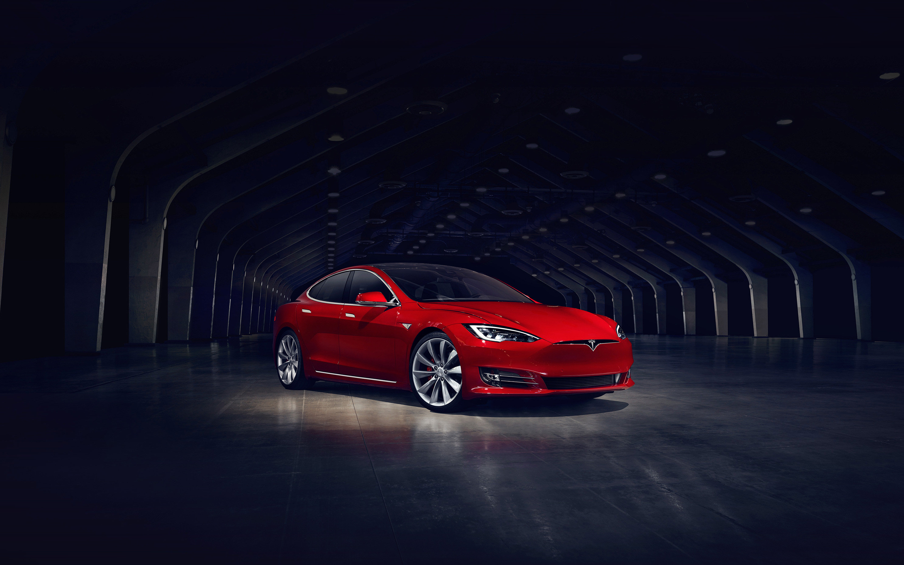 aq53-tesla-model-red-car-wallpaper