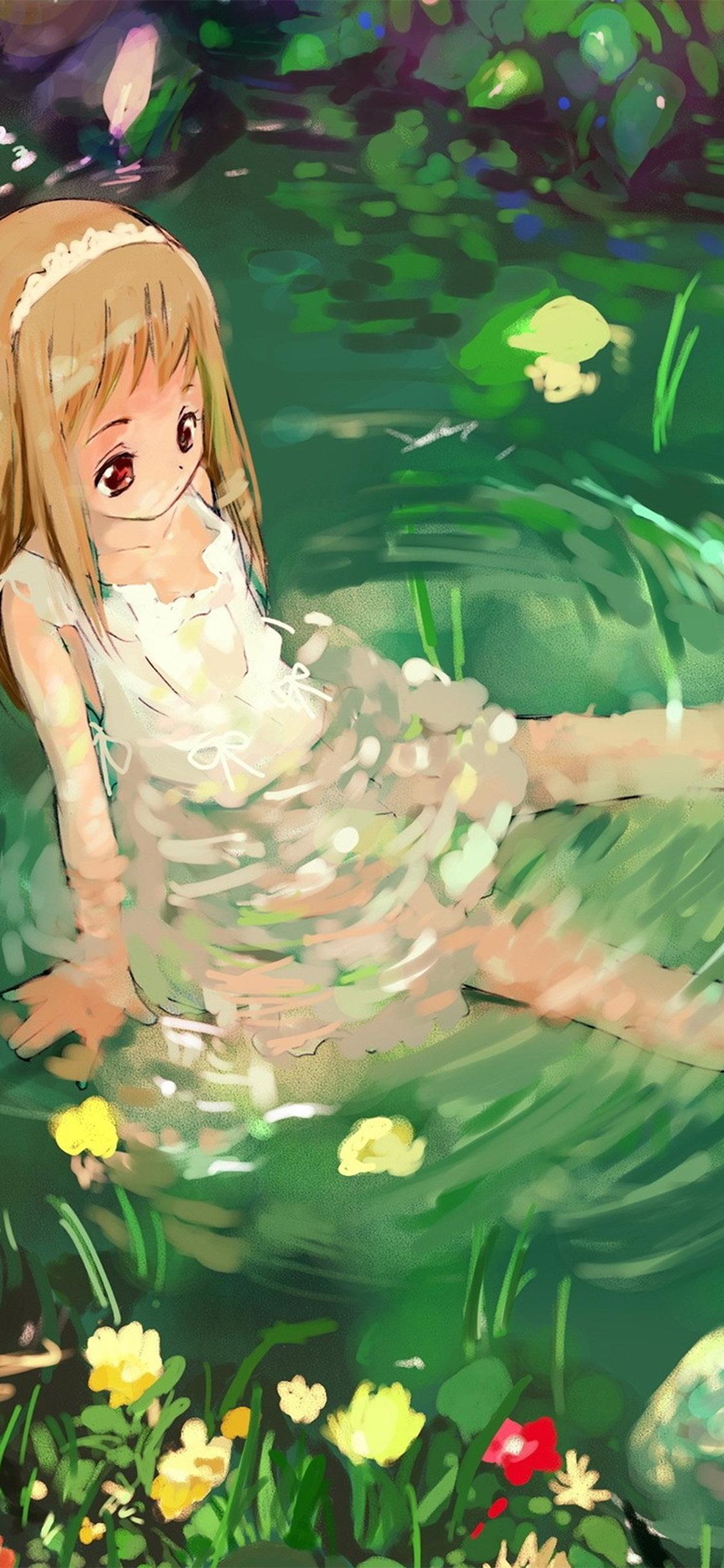 iPhoneXpapers.com-Apple-iPhone-wallpaper-aq59-girl-cute-anime-water