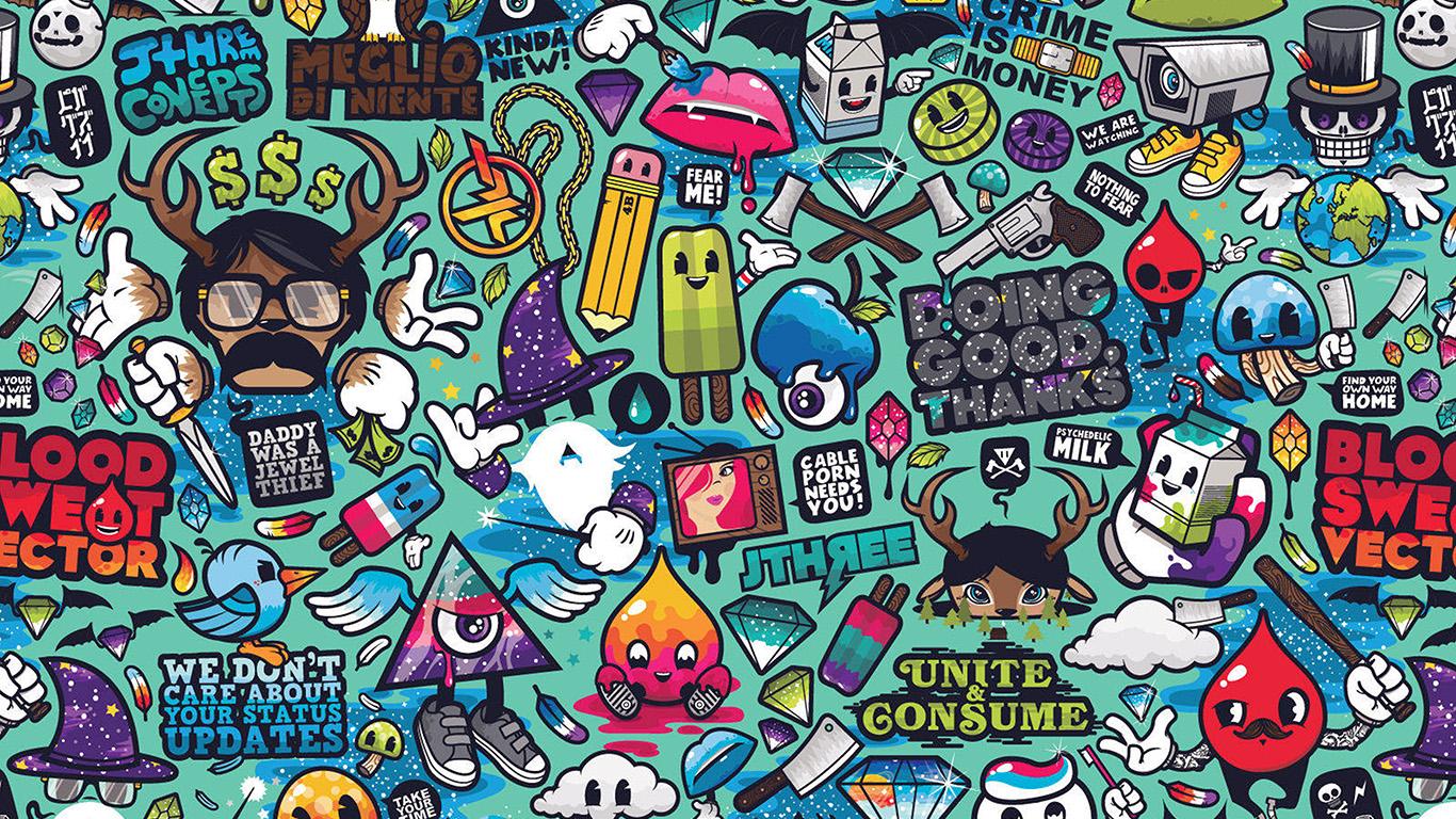 desktop-wallpaper-laptop-mac-macbook-air-aq61-art-work-pattern-illustration-graffiti-wallpaper