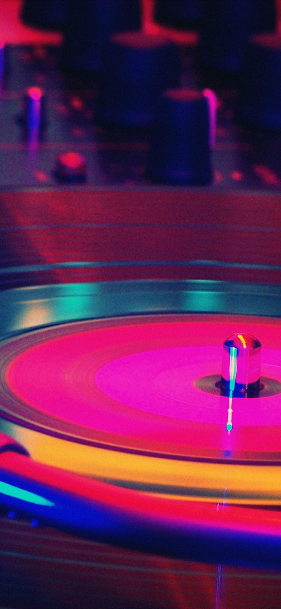 Aq66 Music Dj Art Rainbow Color Red Wallpaper