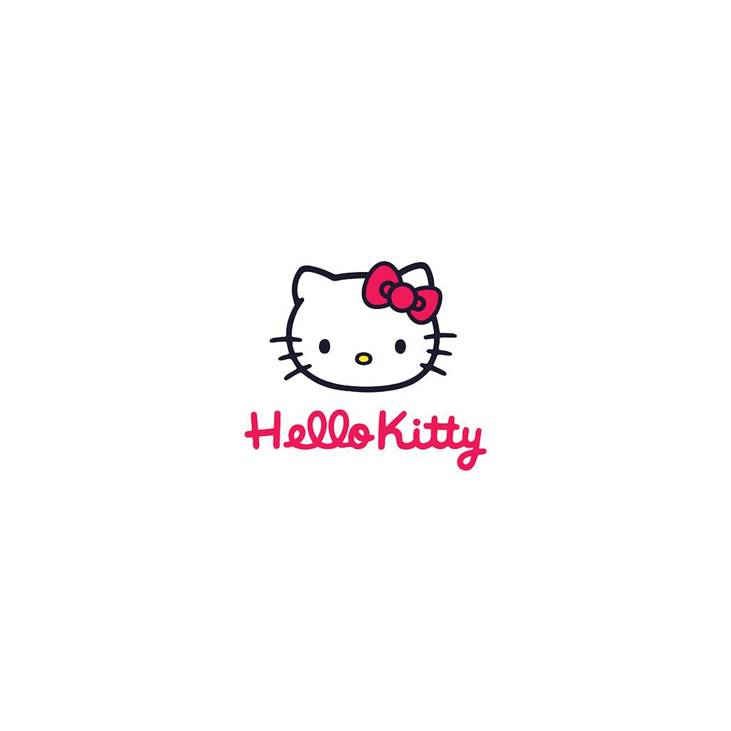 android-wallpaper-aq67-hello-kitty-logo-art-cute-white-wallpaper