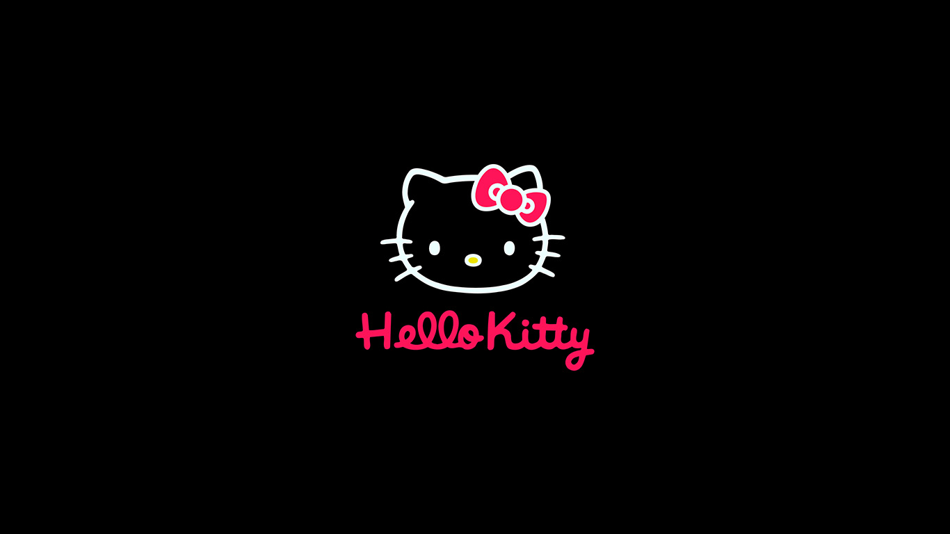 wallpaper-desktop-laptop-mac-macbook-aq68-hello-kitty-logo-art-cute-dark