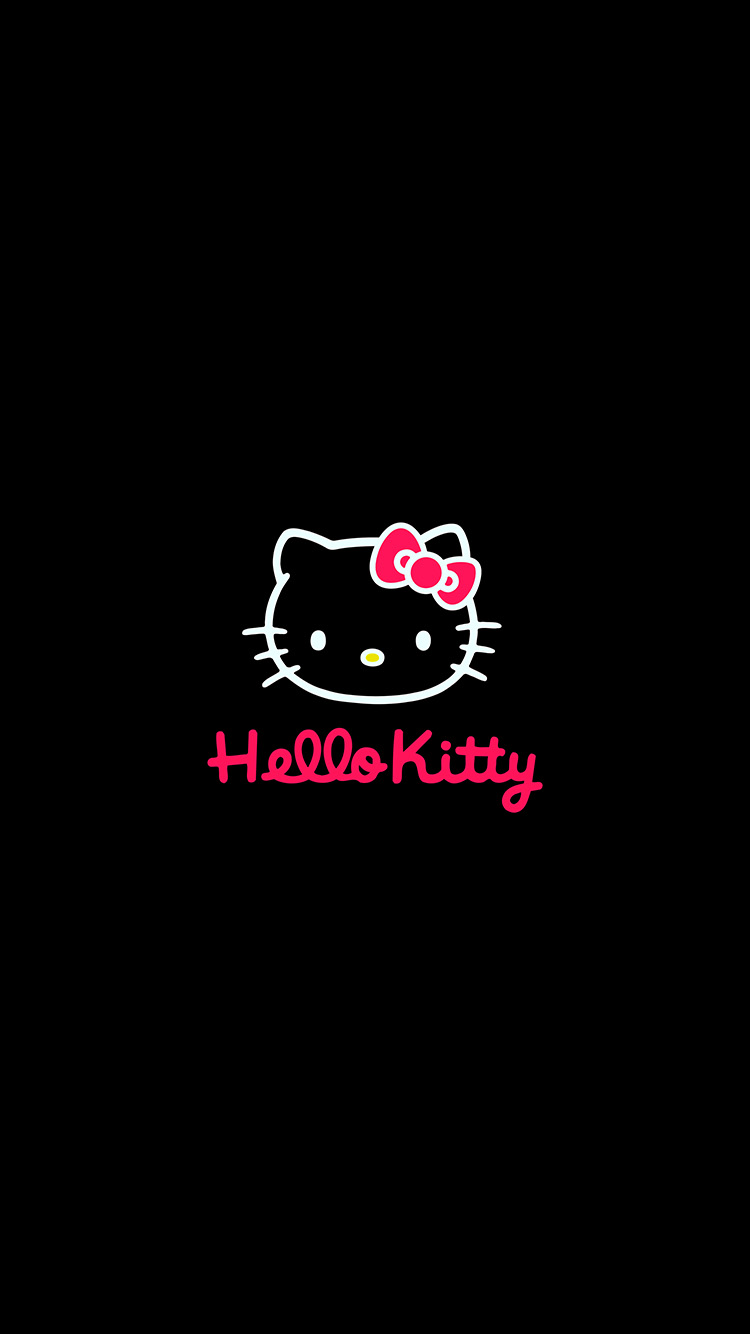 iPhone7papers.com-Apple-iPhone7-iphone7plus-wallpaper-aq68-hello-kitty-logo-art-cute-dark