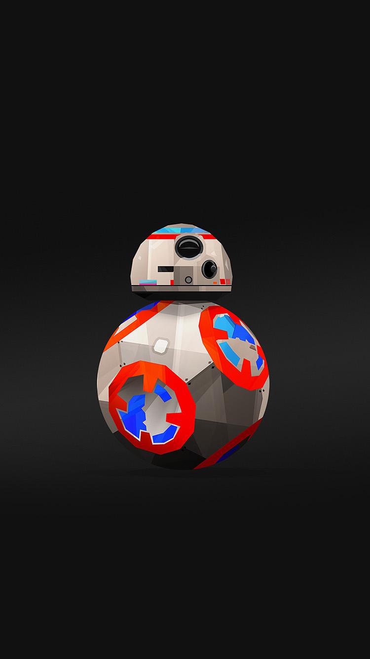 Papers.co-iPhone5-iphone6-plus-wallpaper-aq71-bb-8-droid-starwars-robot-art-film