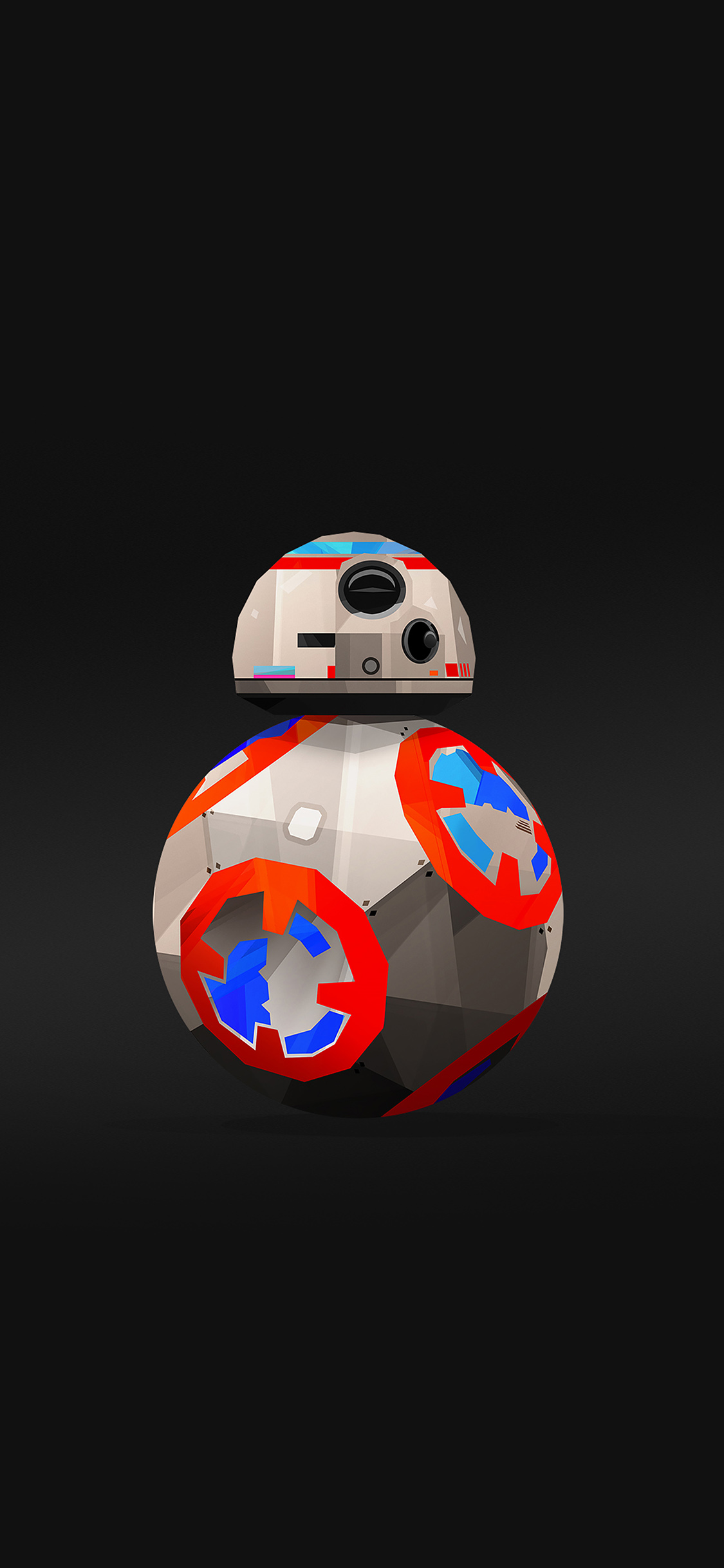 papers.co aq71 bb 8 droid starwars robot art film 41 iphone wallpaper