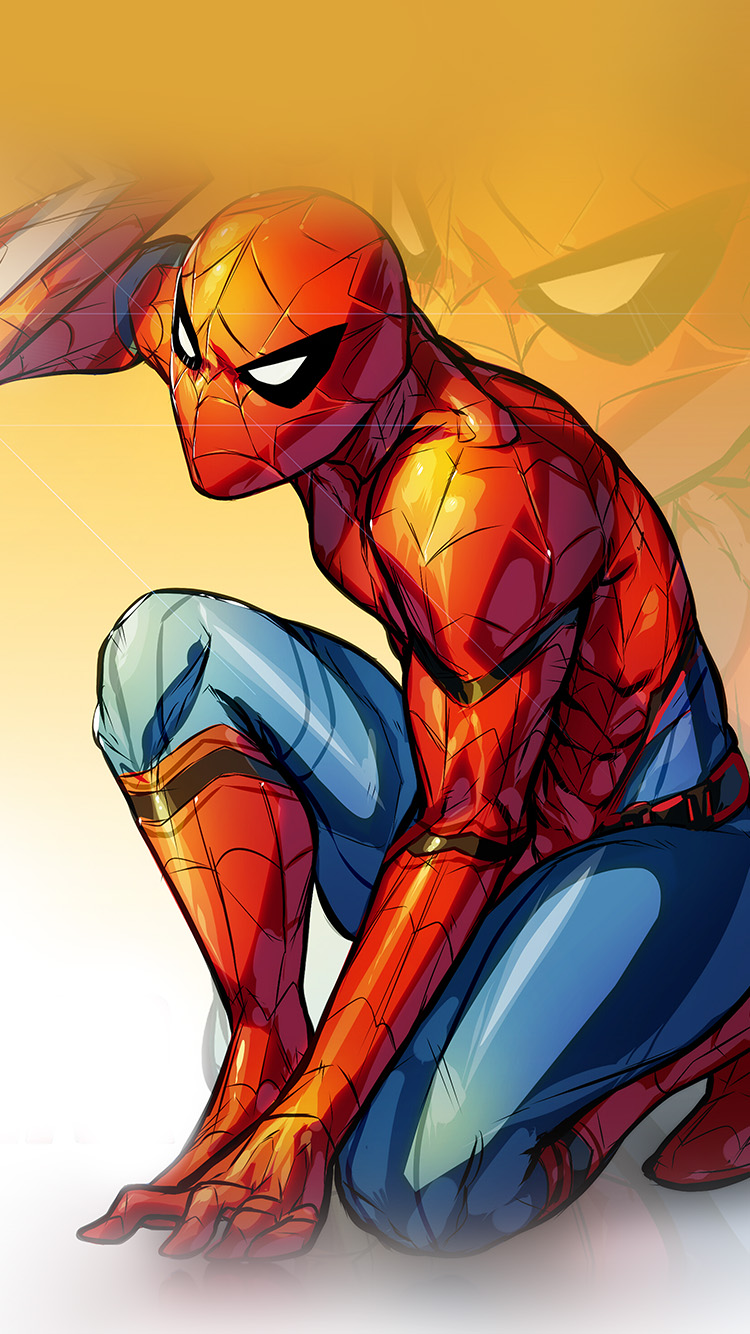 Papers.co-iPhone5-iphone6-plus-wallpaper-aq72-spiderman-captain-america-civilwar-art-hero