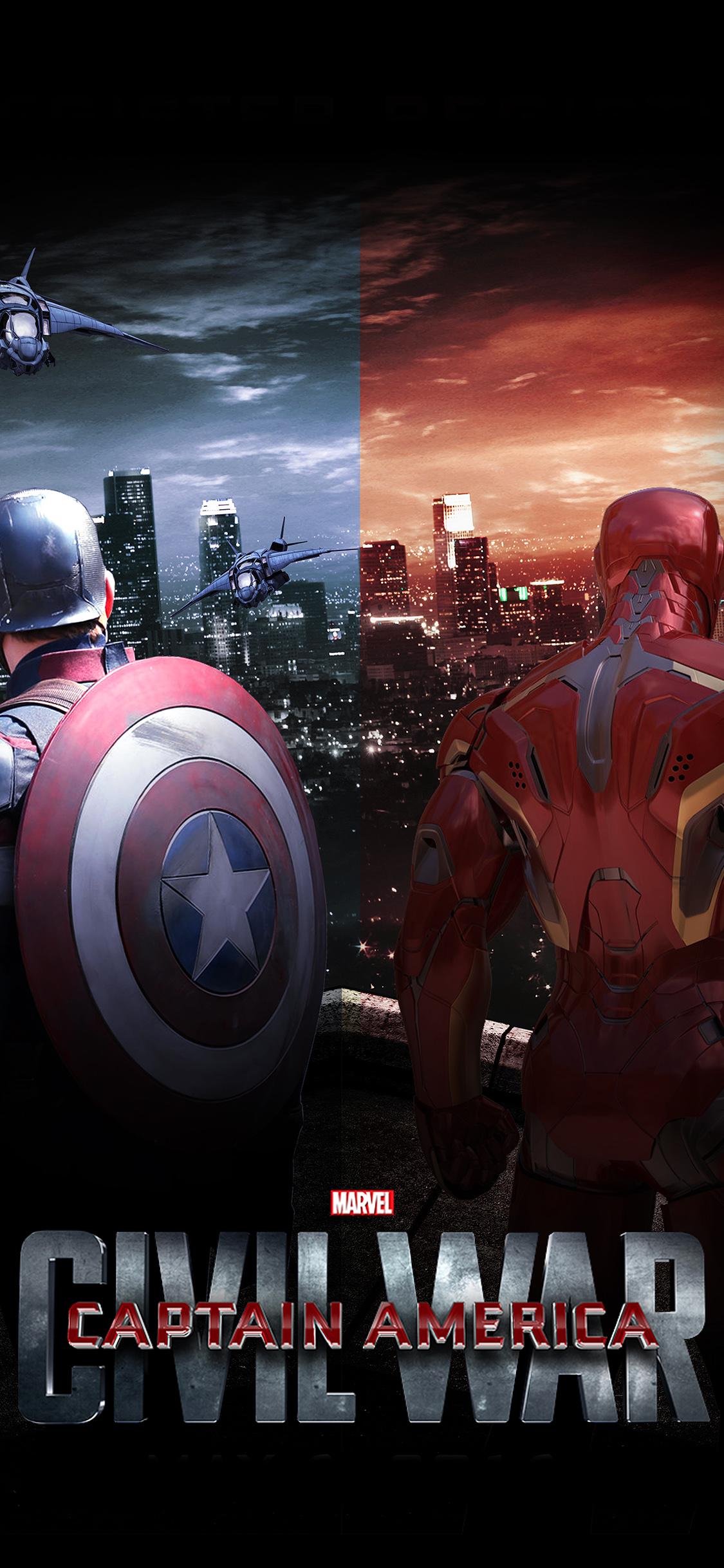 iPhoneXpapers.com-Apple-iPhone-wallpaper-aq73-captain-america-civilwar-art-poster-hero