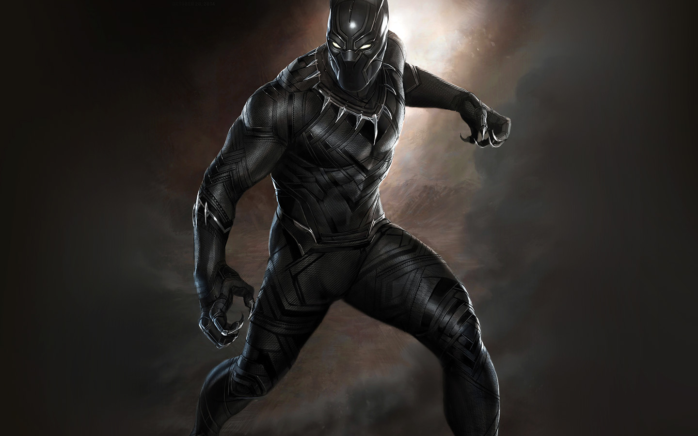 Aq76 Black Panther Art Hero Captain America Wallpaper