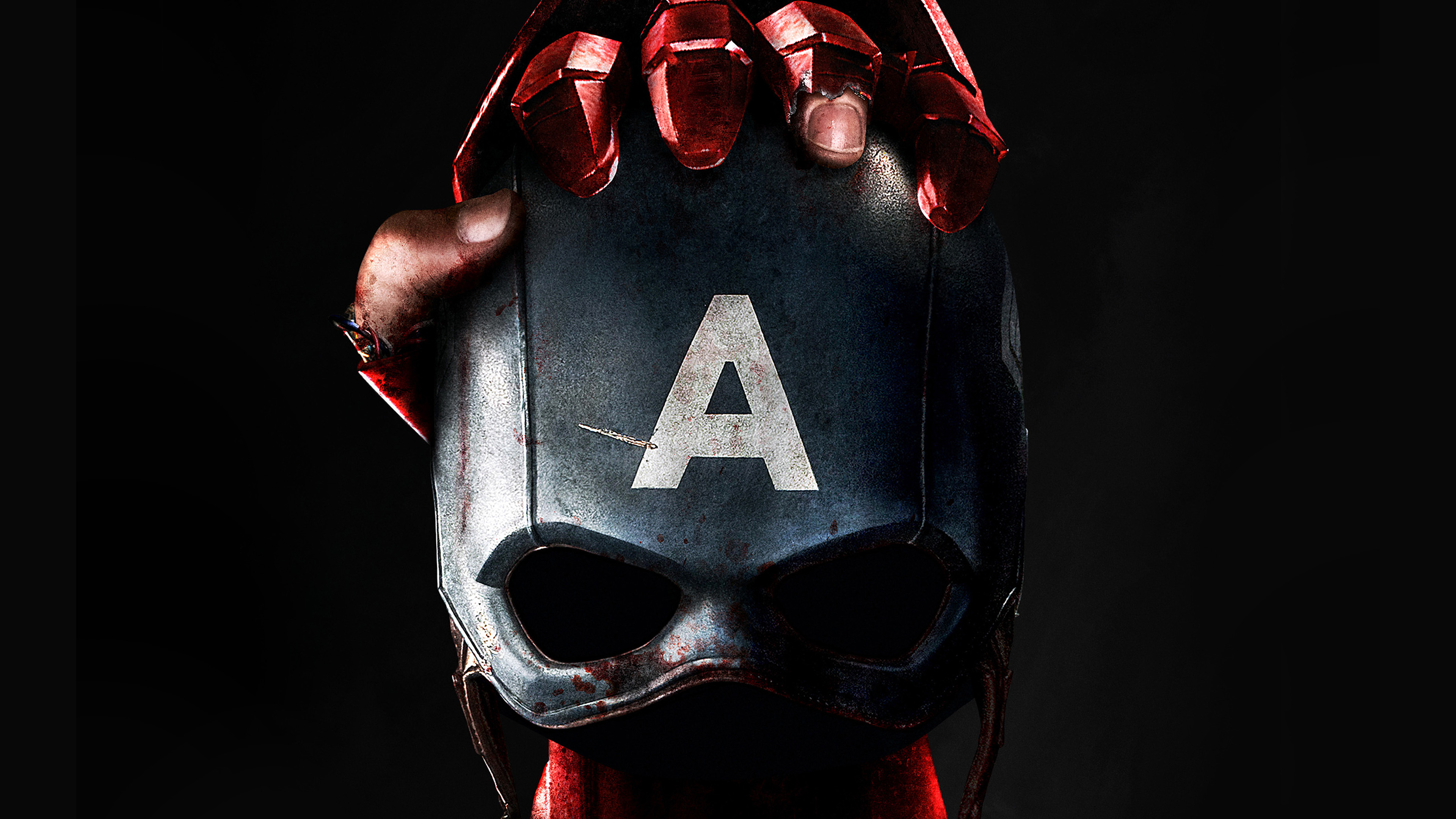 I Love Papers Aq77 Captain America Civilwar Art Ironman Hero