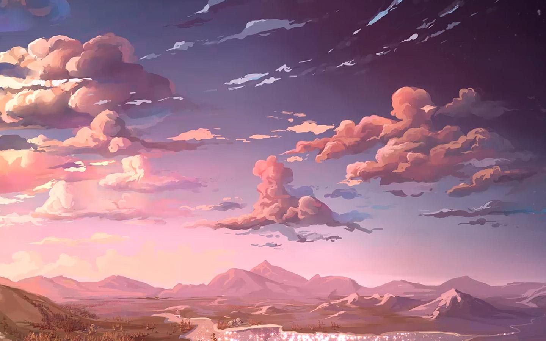 Aq83 nature anime art sea art wallpaper - Anime scenery wallpaper laptop ...