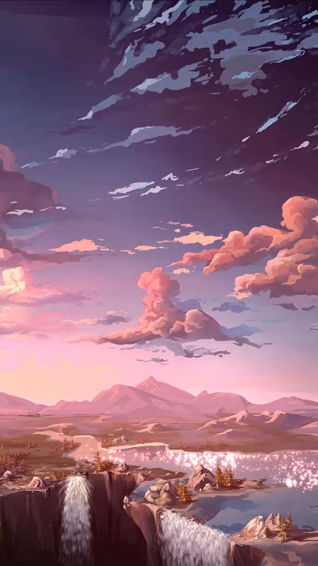 Aq83 Nature Anime Art Sea Art Wallpaper