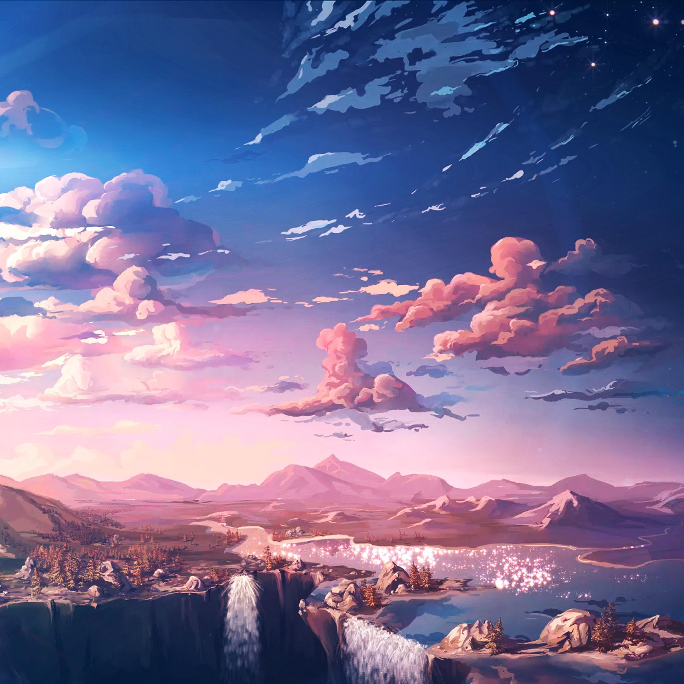 Aq84 Nature Anime Art Sea Falre Wallpaper