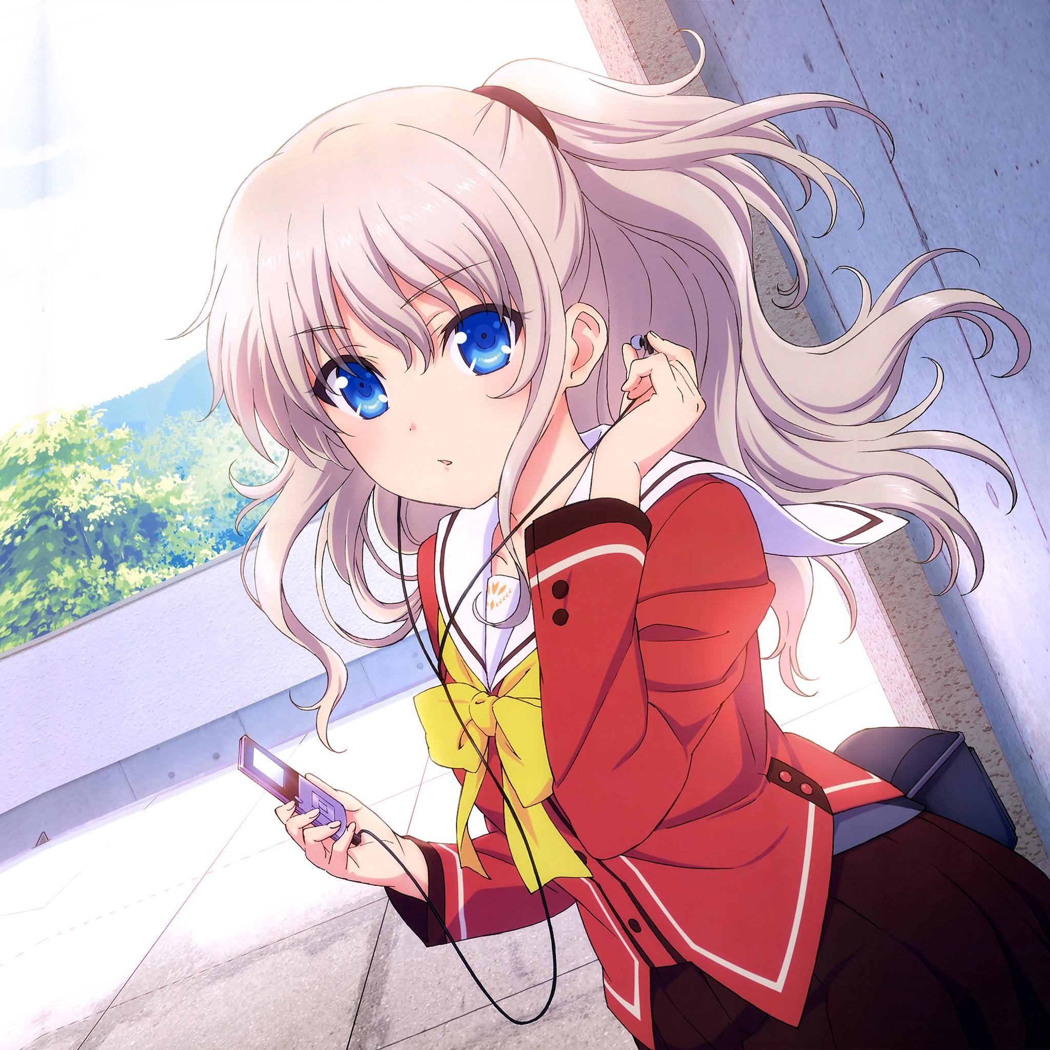 Cute Anime Wallpapers: Aq87-chalorette-anime-girl-cute-art-illustration-wallpaper