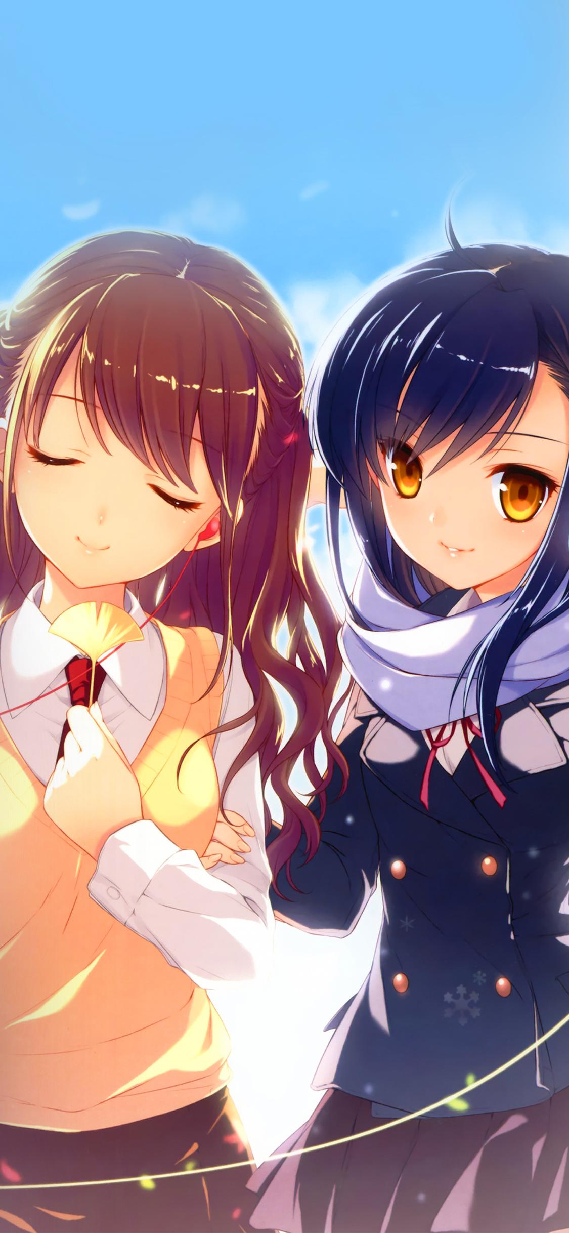 iPhoneXpapers.com-Apple-iPhone-wallpaper-aq89-high-school-girl-cute-illustration-art