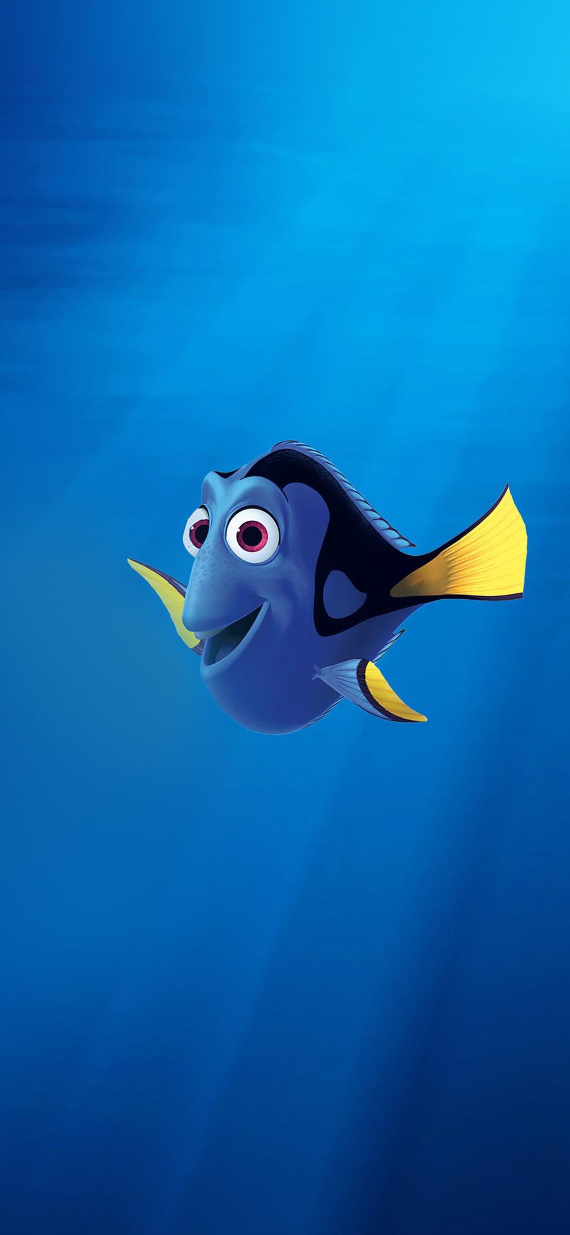 Aq99 Finding Nemo Dory Disney Art Wallpaper