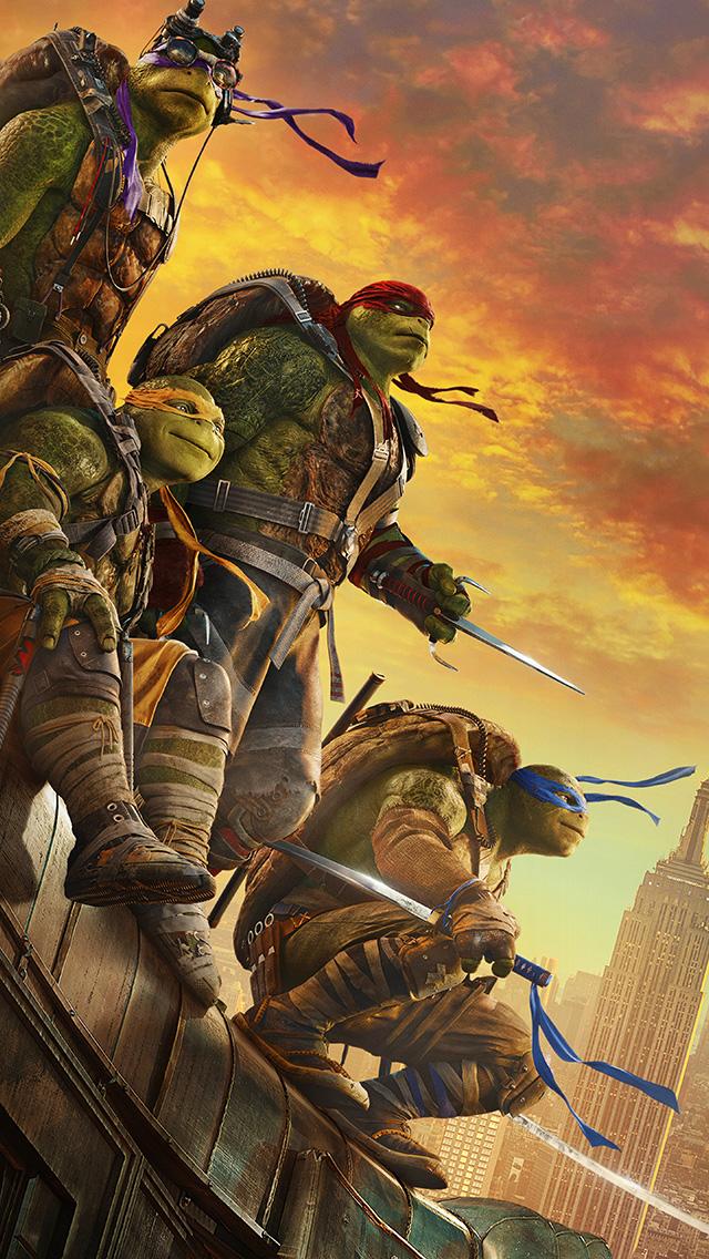 freeios8.com-iphone-4-5-6-plus-ipad-ios8-ar01-ninja-turtle-poster-film-anime-art