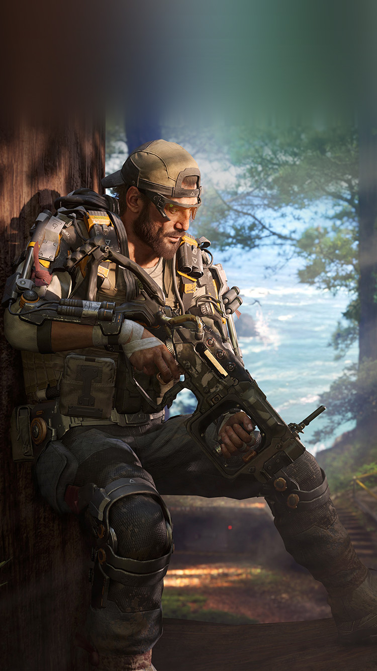 Ar05 Call Of Duty Blackops Game Illustration Art Wallpaper