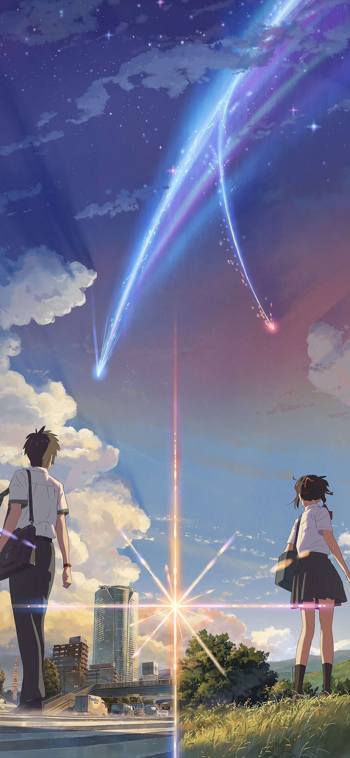 iPhoneXpapers.com-Apple-iPhone-wallpaper-ar28-boy-and-girl-anime-art-spring-cute
