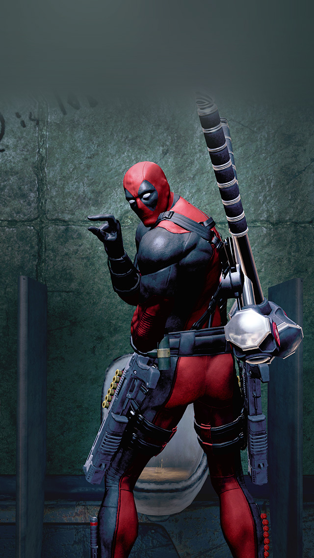 freeios8.com-iphone-4-5-6-plus-ipad-ios8-ar32-deadpool-superhero-art-pee-marvel