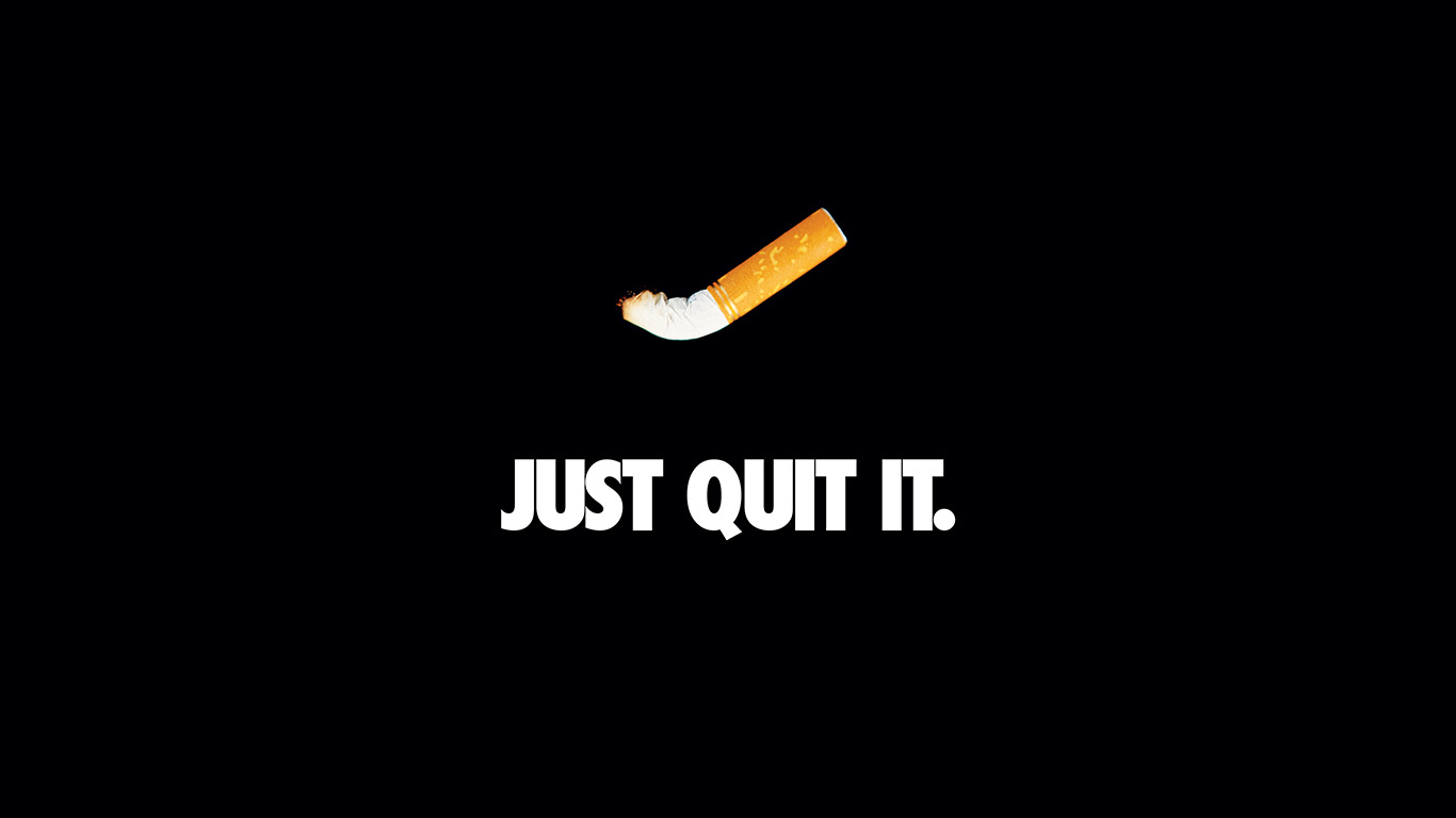 desktop-wallpaper-laptop-mac-macbook-air-ar33-just-quit-it-nike-smoking-art-minimal-dark-wallpaper