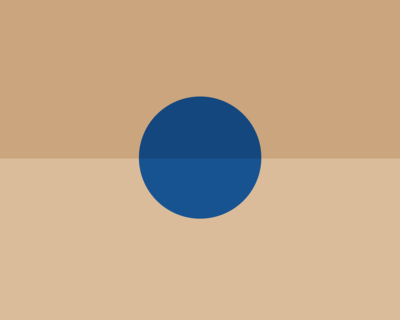 Ar39 minimal tycho art blue sun yellow illustration wallpaper for Minimal art essay