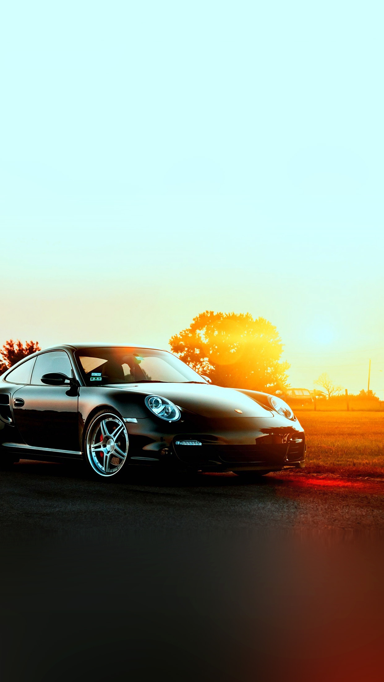Iphone6papers Co Iphone 6 Wallpaper Ar43 Porche Art Sunset