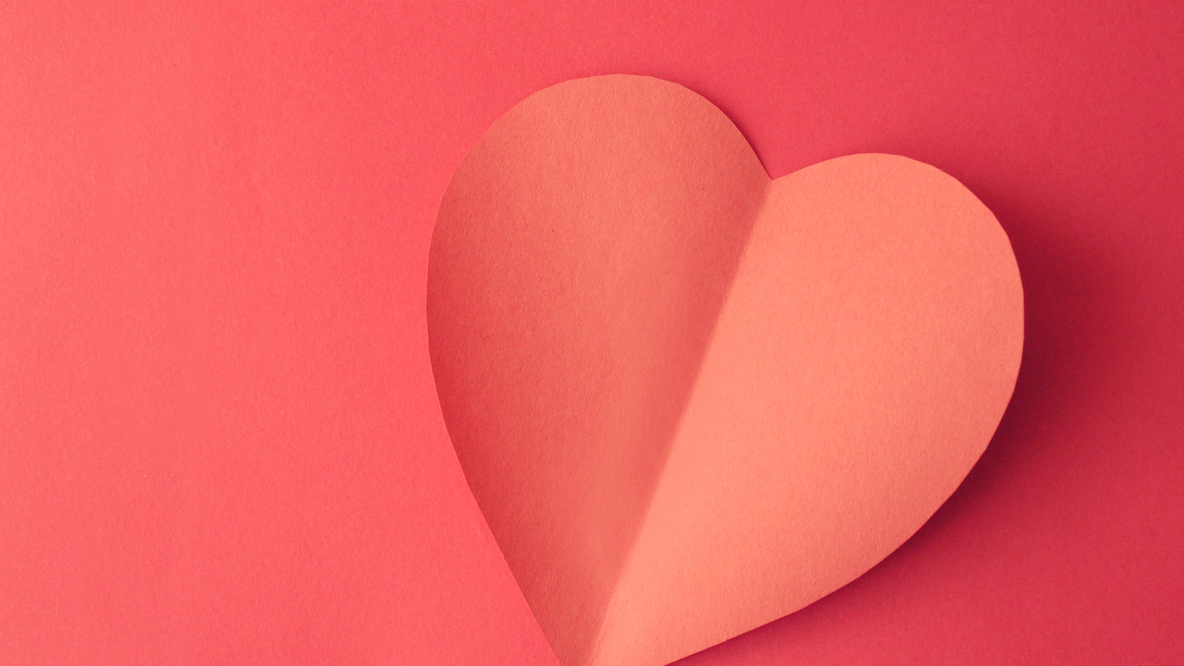 wallpaper for desktop, laptop | ar44-love-pink-heart-minimal