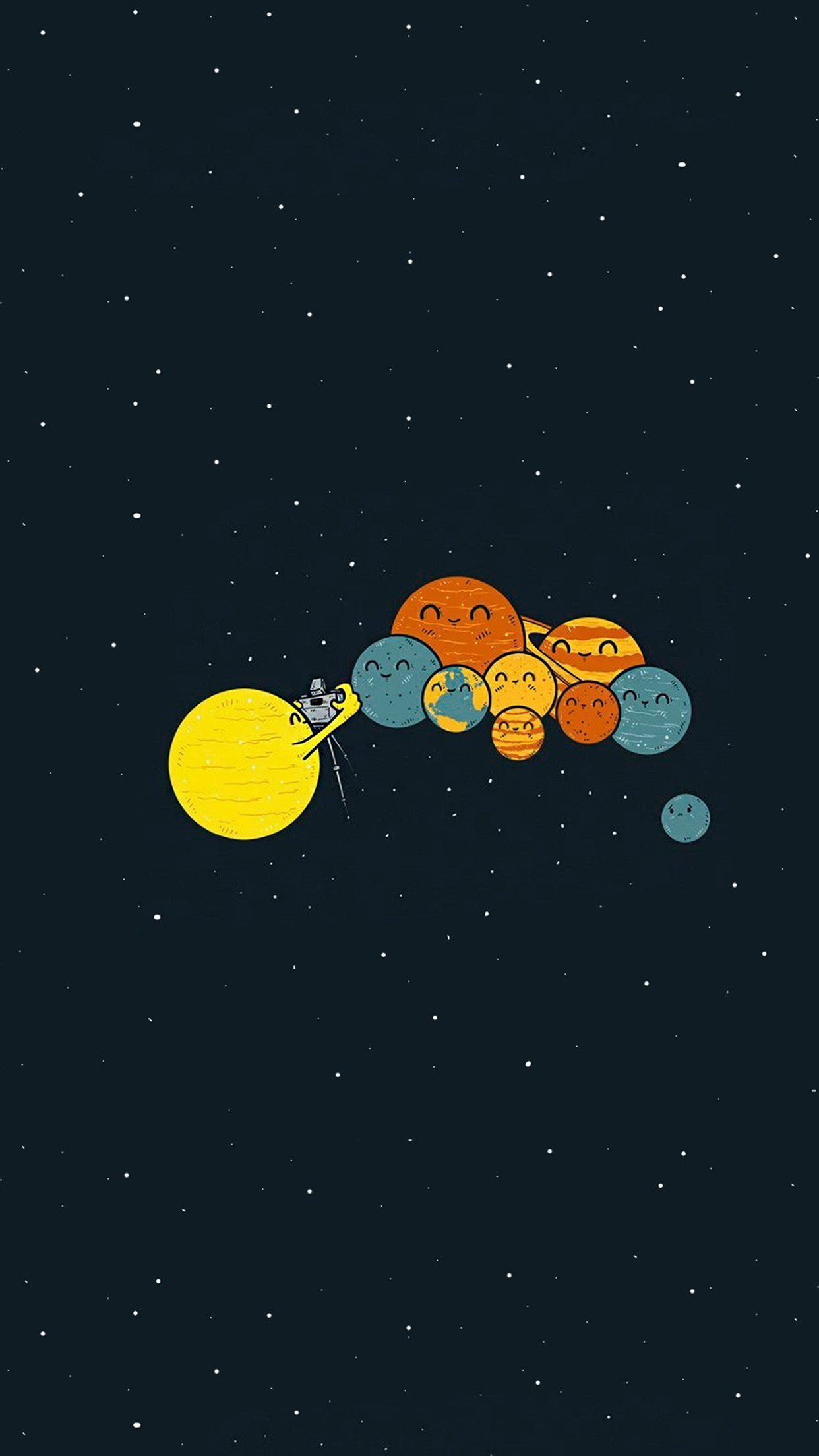 Iphone wallpaper ar48 planets cute - Classic art wallpaper iphone 5 ...