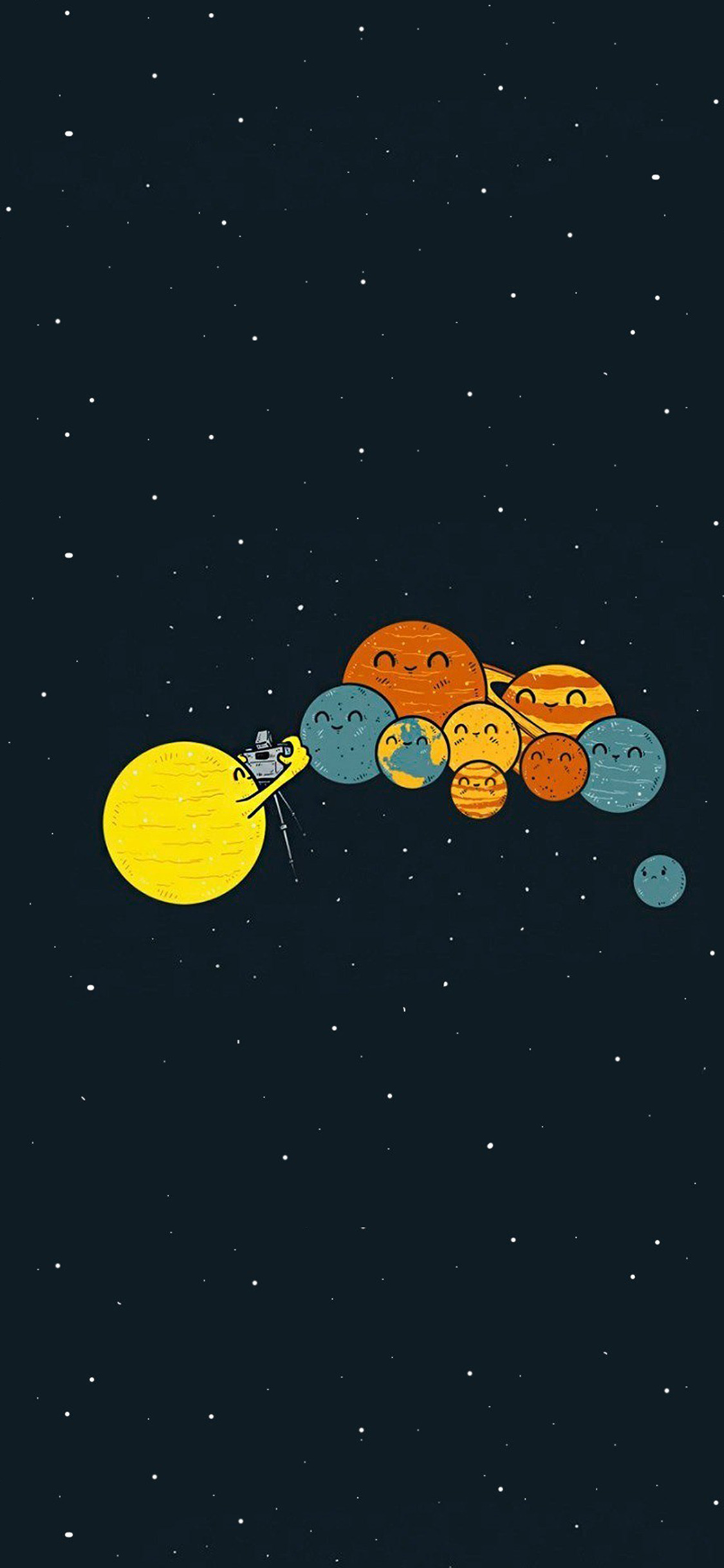 Iphonepapers Com Iphone 8 Wallpaper Ar48 Planets Cute
