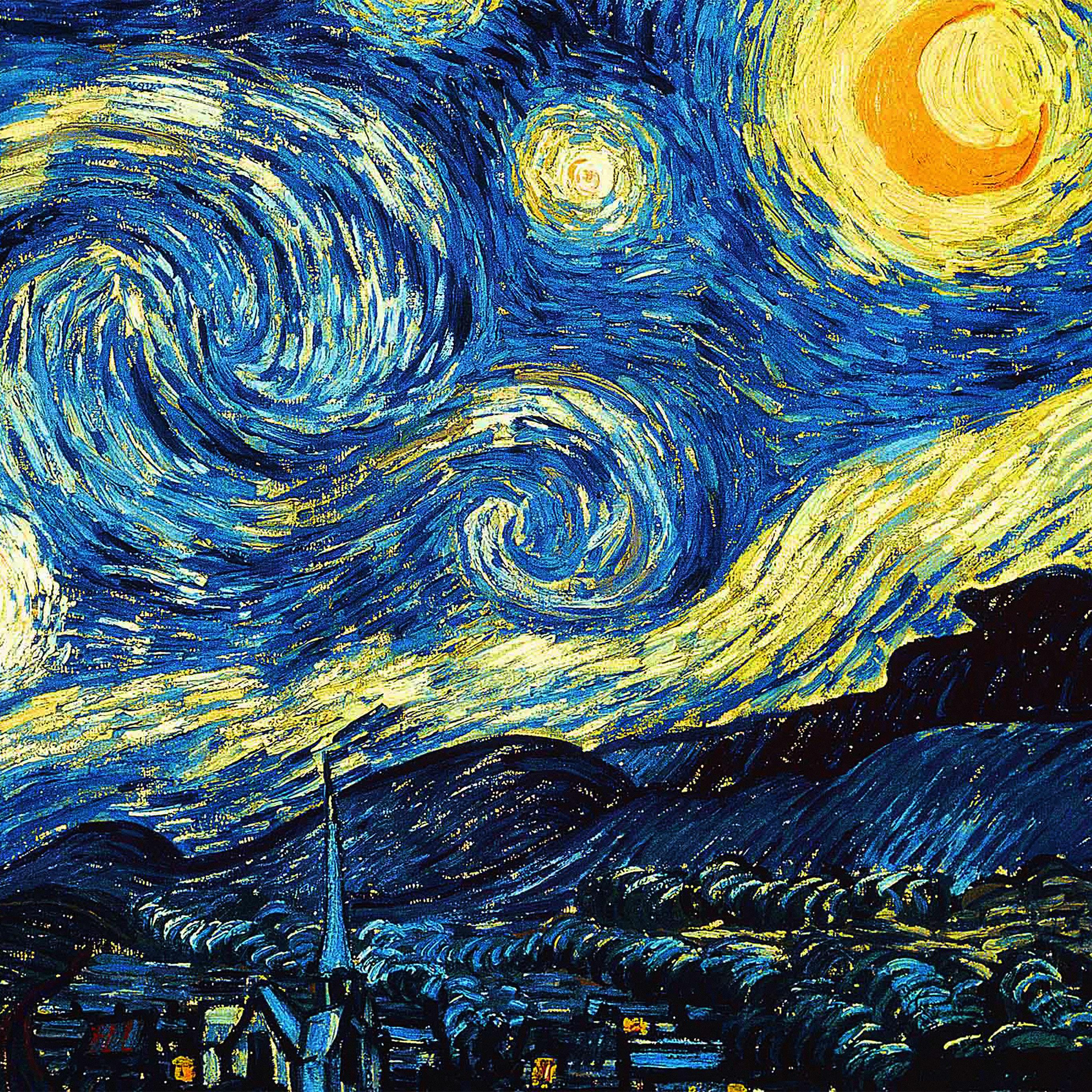 Van Gogh Wallpaper: Large