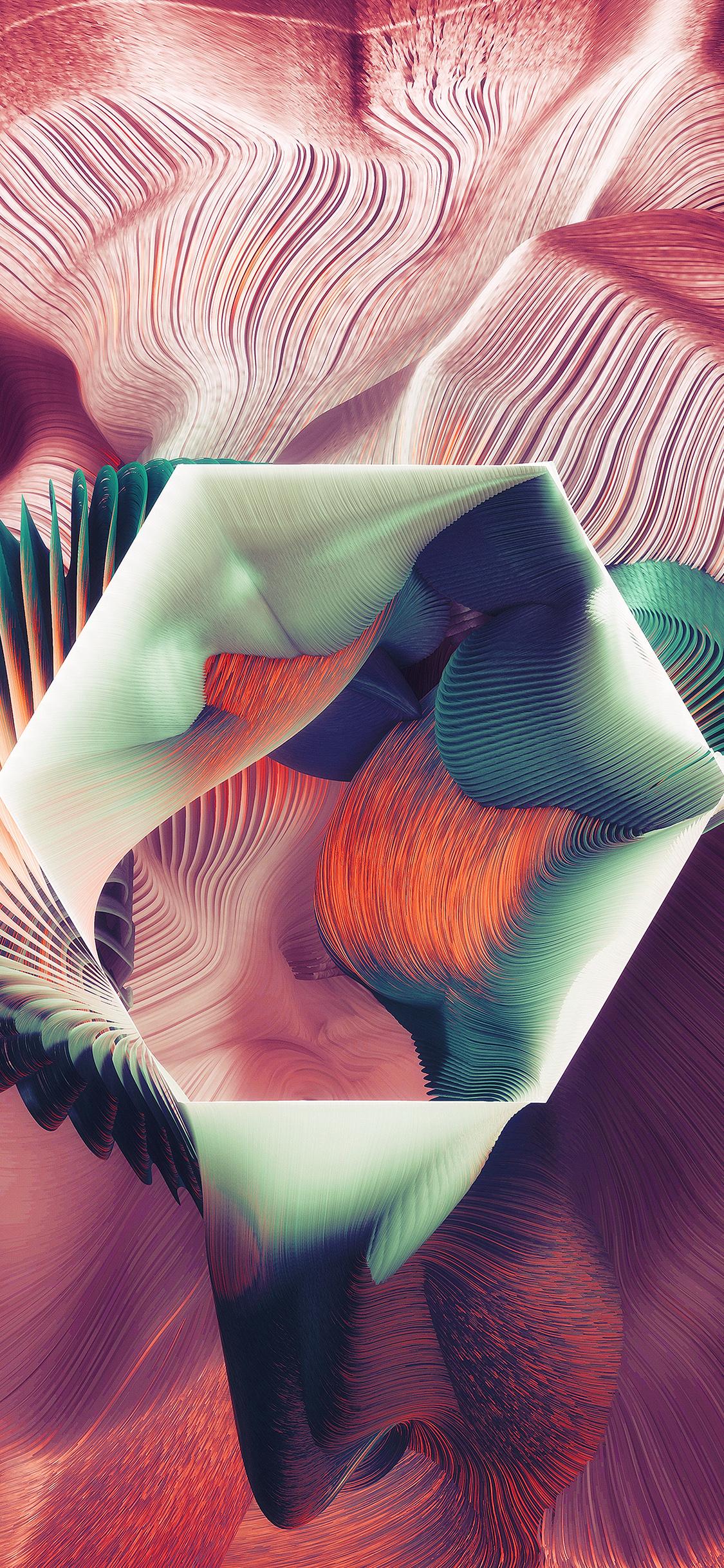 iPhoneXpapers.com-Apple-iPhone-wallpaper-ar73-polagon-plums-ari-weinkle-art-illustration-pattern-blue