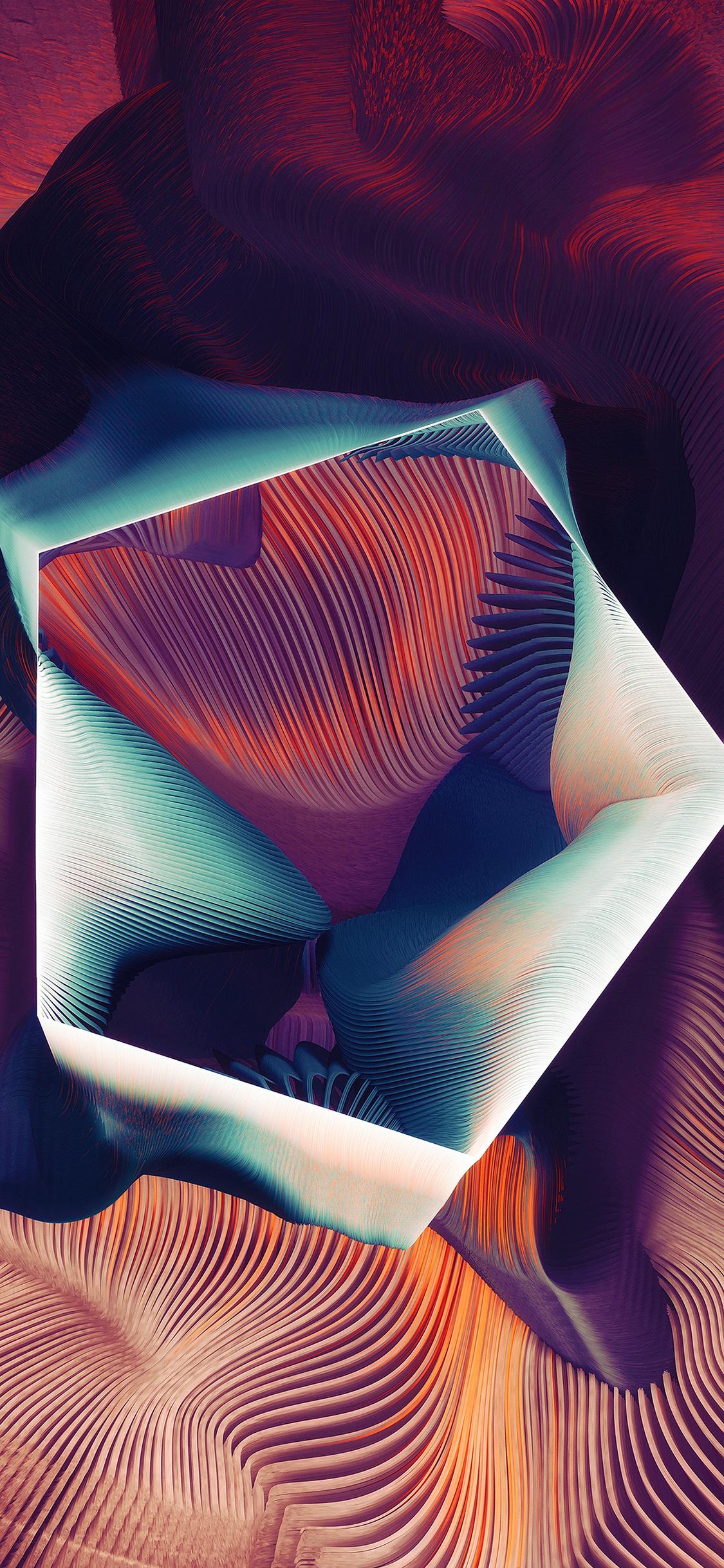 iPhoneXpapers.com-Apple-iPhone-wallpaper-ar77-polygon-plums-ari-weinkle-art-illustration-pattern-purple