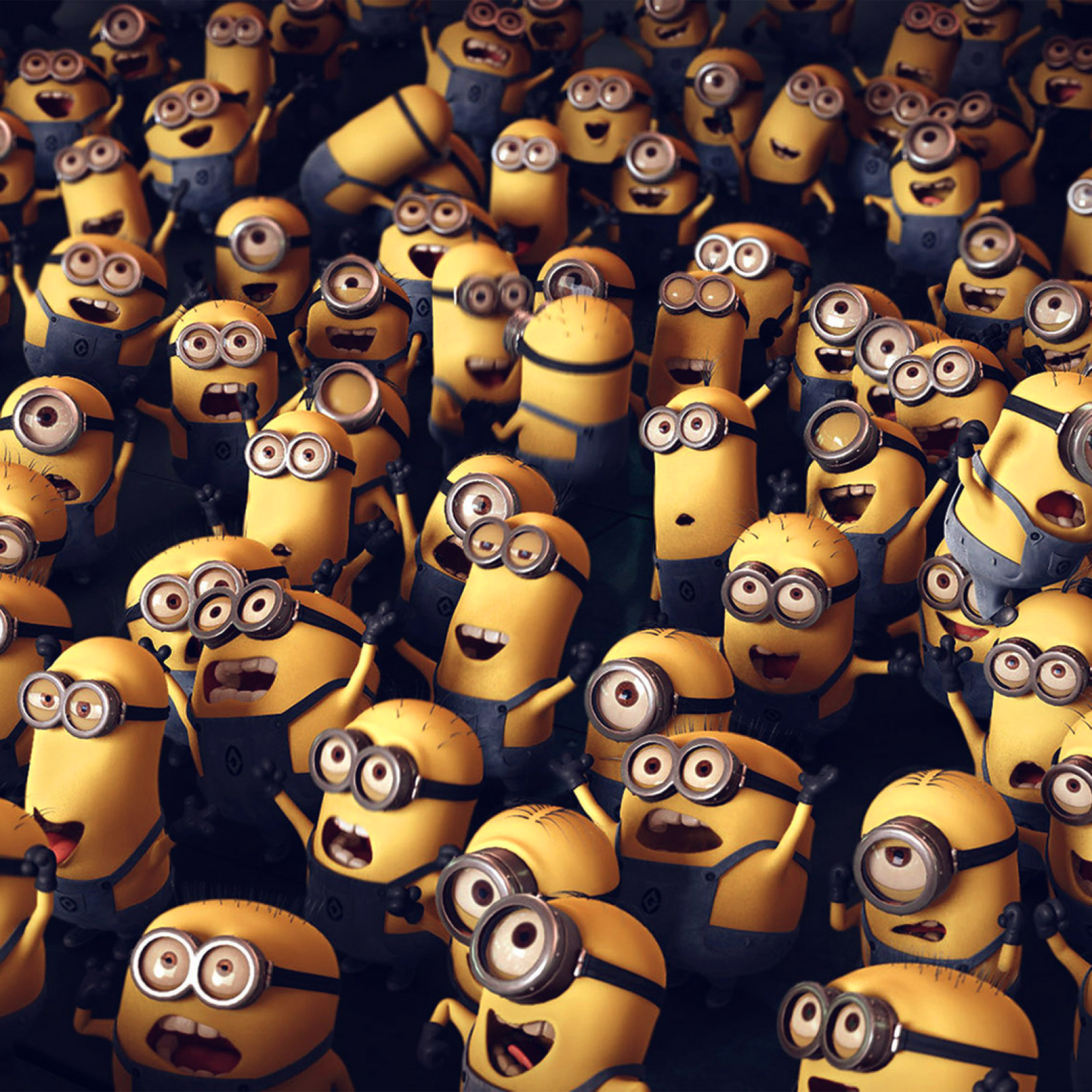 Papers Co Android Wallpaper Ar84 Minions Despicable Me Cute