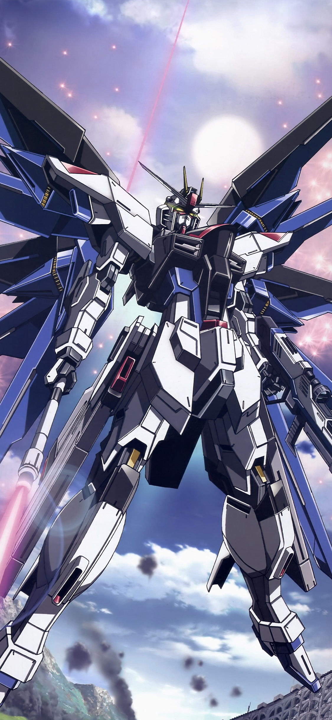 iPhoneXpapers.com-Apple-iPhone-wallpaper-ar85-freedom-gundam-art-illustration-anime